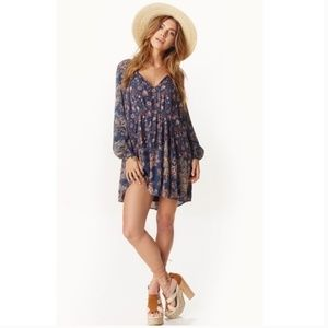 Free People 'Lucky Loosie' Swing Dress Size Small